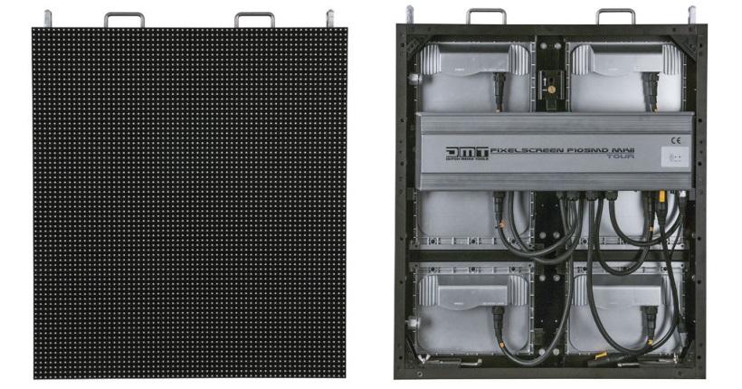 LED scherm paneel achterkant